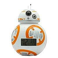 BulbBotz Star Wars Plastic alaram Clock, Color:BB-8 (Model: 2020503