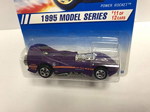 - POWER ROCKET Model Series 1995 Mattel Hot Wheels Collector diecast 1/64 scale No. 351