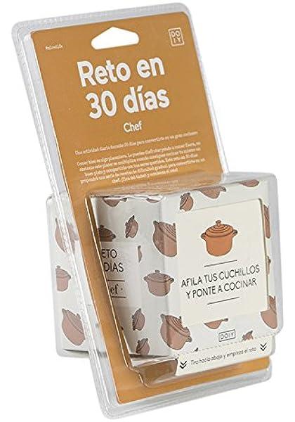 Doiy Reto Chef 30 días español: Amazon.es: Hogar