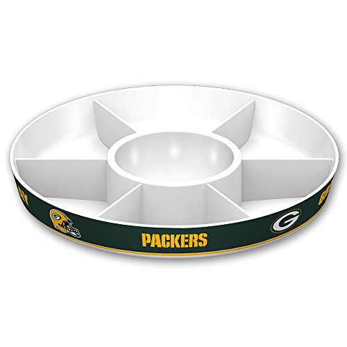 NFL Green Bay Packers Party Platter, White ()