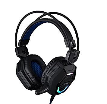The G-Lab KORP300 - Auriculares Gaming, Color Negro