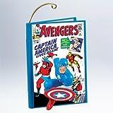Captain America Avengers #4 2011 Hallmark Ornament - QX8819