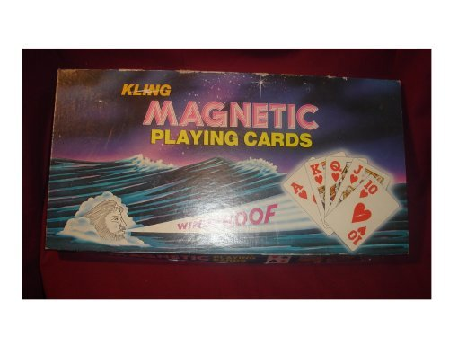 Kling Magnetic Playing Cards with magnetic board by Kling