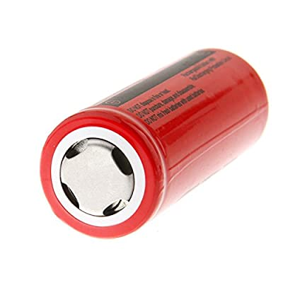 Hossen GTF 4pcs 3.7V 26650 8800mAh Li-ion Rechargeable Battery For LED Flashlight Torch