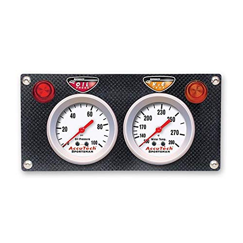 Longacre Racing 52-44422 ACCUTECH CF 2 GA PNL WT/OP by Longacre