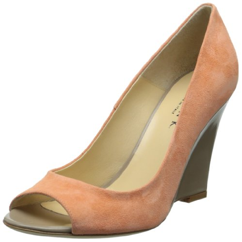Marvin K Women's Tracey, Salmon Suede, 6.5 M US Aquatalia By Marvin K Pumps