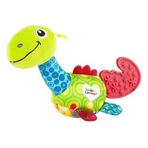 (LAMAZE Mini Teether, Dino)