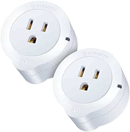 Etekcity 2 Pack Voltson WiFi Smart Plug Mini Outlet with Energy Monitoring, Works with Amazon Alexa Echo and Google Assistant, No Hub Required, ETL Listed, White