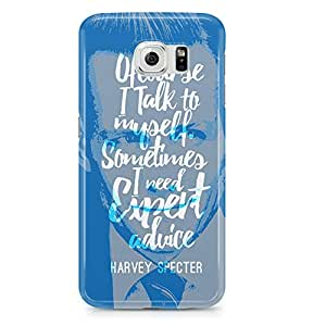 Samsung S6 Case Suits Case Harvey Expert Opinion Tv Show-Durable Hard Plastic Wrap Around Phone Cover