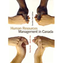 Human Resources Management in Canada, Canadian Tenth Edition (10th Edition)