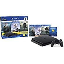 Console PlayStation 4 - Slim 1TB - Hits Bundle v4