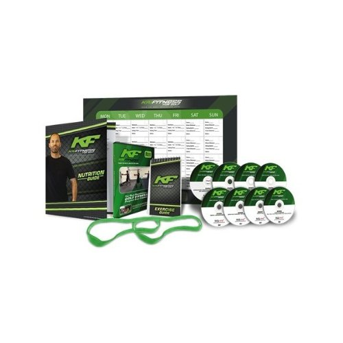 "Kai Fitness For Golf Training DVD Kit Workout Body 1/4"" Band Less Resistance"