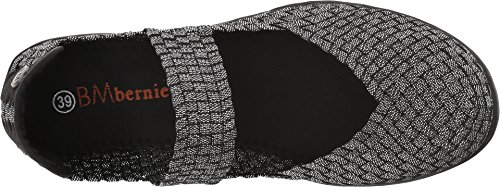 Bernie Mev Women's Cuddly Mary Jane Flat Black Shimmer online cheap discounts cheap price cheap comfortable get to buy cheap price sale find great vQomSo