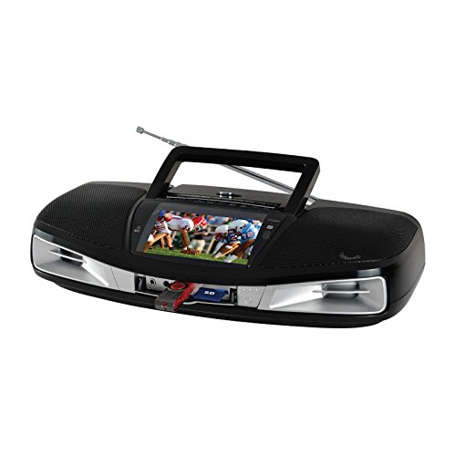 Supersonic SC-1393 Portable Audio System with Remote Control