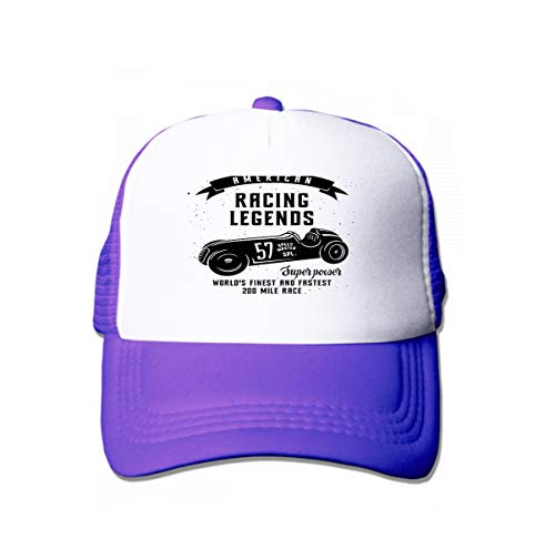 Classic Cotton Dad Hat Adjustable Plain Cap Custom Denim Baseball Cap for Adult Racing car Speed Racer Graphic American Race Vintage Poster Purple