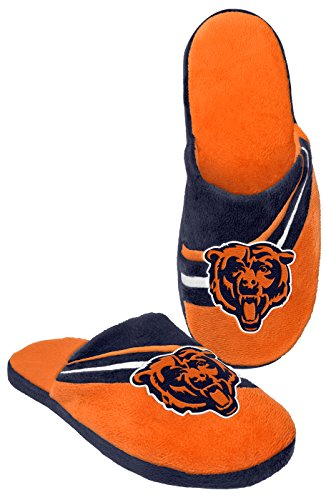 Chicago Bears Nfl Adulto 2013 Grande Logo Slide Slipper Tpr Sole Medio