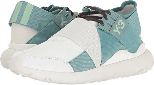 adidas Y-3 by Yohji Yamamoto Women's Y-3 Qasa Elle Lace Ftw White/Vapour Steel/Crystal White Athletic Shoe