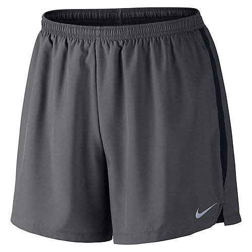 Nike Mens Challenger 5 Short Anthracite/Black/Reflective Silver (Nike Lightweight Shorts)