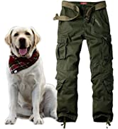 Jessie Kidden Women's Combat Cargo Trousers Camo Camouflage Army Military Tactical Work Pants