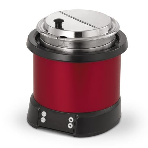 Vollrath 7470140 Red 7 Quart Induction Rethermalizer by Vollrath