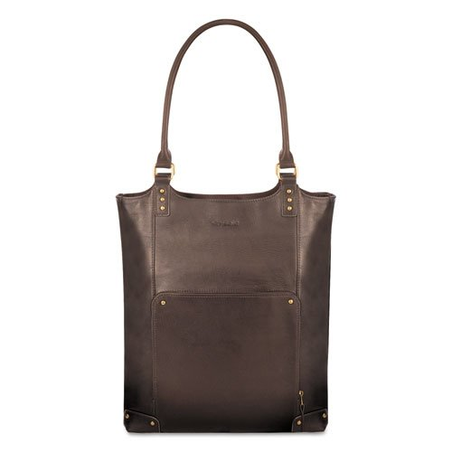 (USLVTA8043 - Executive Leather/Poly Bucket Tote)