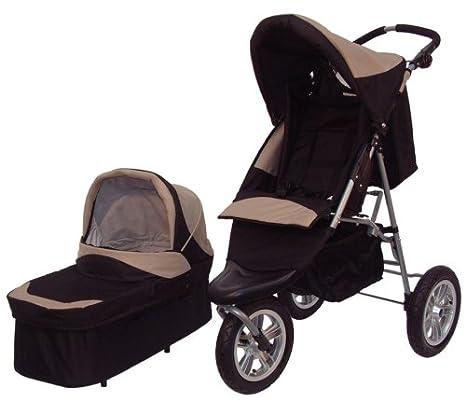 x-adventure Trekker - 3-Wheel combinación para cochecito de bebé y carrito: Amazon.es: Bebé