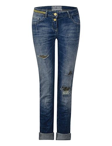 10279 Slim authentic Azul Mujer Vaqueros Used Cecil Para Wash 8O7xBzq