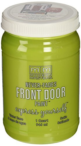 275275 Satin Front Door Paint, 1 quart, Fortunate by Modern Masters
