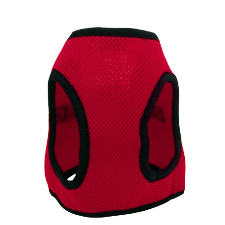 Eyoulife Pet Dog Puppy Soft Vest Harness Size M # Red, My Pet Supplies