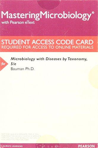 Microbiology W/Diseases.. Masteringmic.