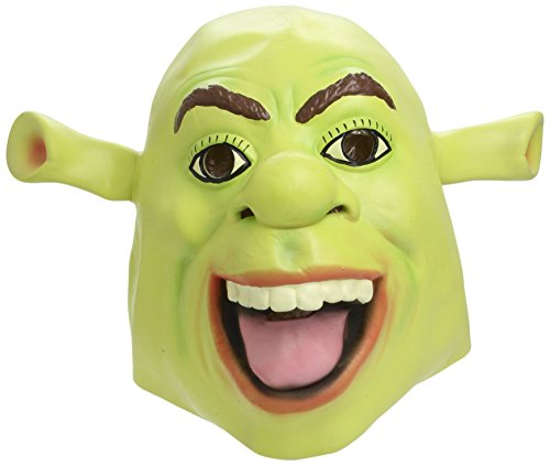 Fancy Dress Latex Masks (Shrek Mask, Overhead Latex Mask for Fancy Dress)
