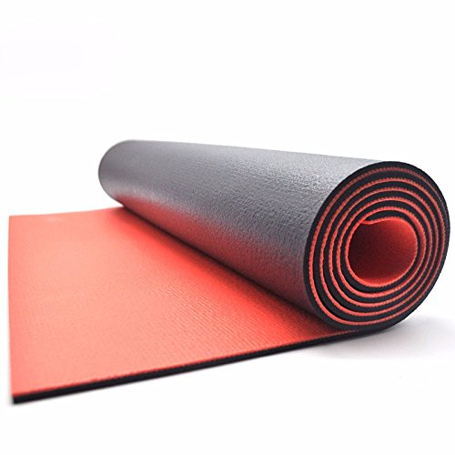 MDRW-Yoga Lovers Two Tone Thickening 6Mm Yoga Pilates Mat Anti Slip Beginner Yoga Pilates Mat Sports Fitness Mat 17361Cm Yoga Mat by Olici
