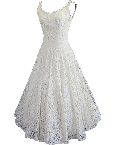 Length Lace Wedding Dress - 8