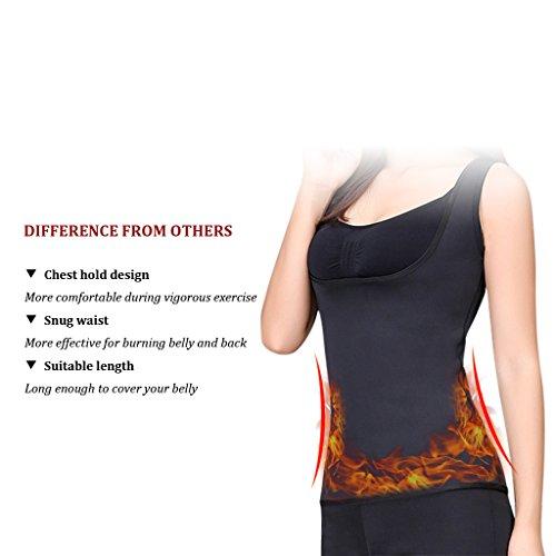 3eacb28c608c2 Slimming Body Shaper for Women Belly Fat Burner Hot Sweat Sauna Vest Tank  Top Weight Loss