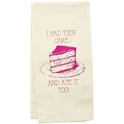 wit! Tea Towels, Cake