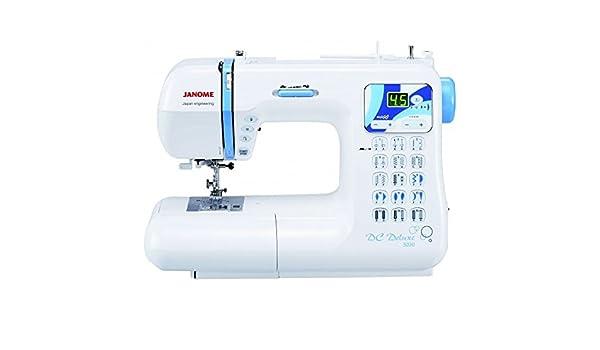 Máquina de coser Janome dc5030 Deluxe – Garantía 5 años: Amazon.es ...