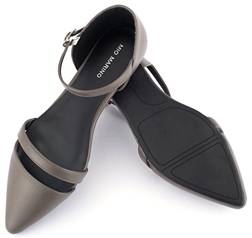Mio Marino Ballet Flats Shoes for Women - Pointed Toe Flats Dress Shoes for Women