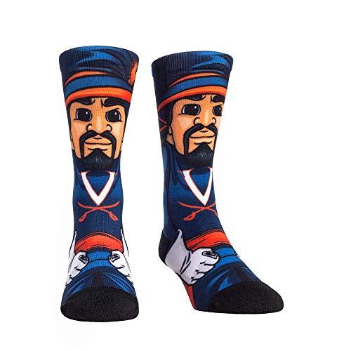 NCAA Super Premium College Fan Socks (L/XL, Virginia Cavaliers - Mascot)