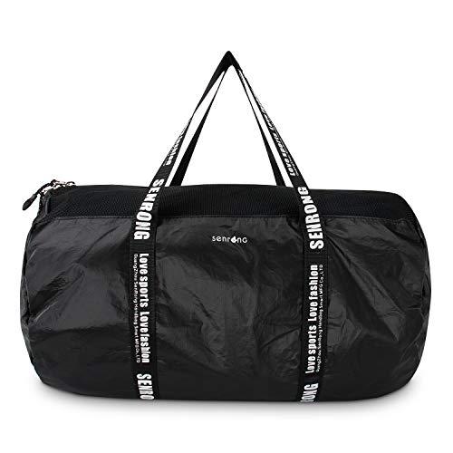 Ultralight Tyvek Paper Duffel Bag, Portable Mesh Bag, Sports Gym Bag