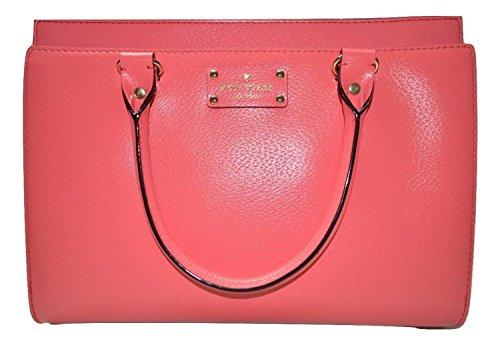 Kate Spade Durham Wellesley Handbag in Flamingo