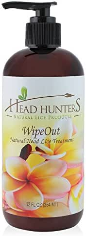 #1 Super Lice Treatment - Wipe Out Natural Head Lice Treatment 12 oz