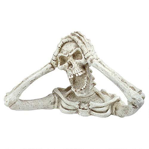 Design Toscano Shriek The Skeleton Statue Medium – Zombie Statue – Halloween Prop