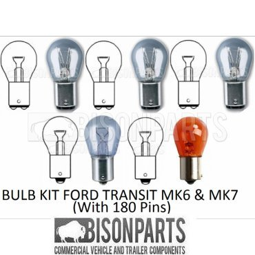 Rear Tail Light Lamp Bulb Kit