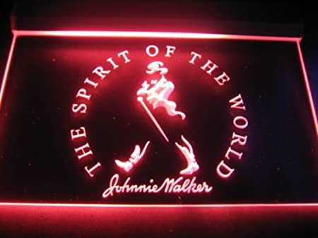 Johnnie Walker Spirit of the world LED Neon Sign