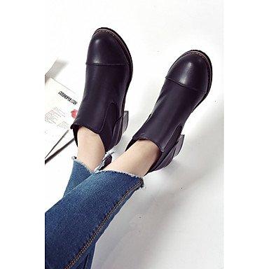 LvYuan-GGX Damen Damen LvYuan-GGX High Heels Leder PU Frühling Schwarz 5-7 cm, schwarz, us4-4.5 / eu34 / uk2-2.5 / cn33 - 4d1bcd