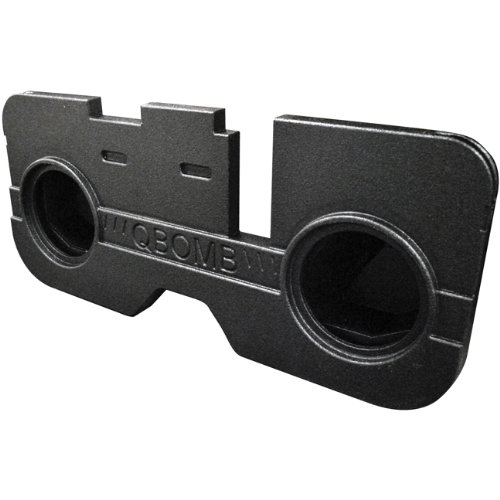 Q Power QBDODGEQC212 Dual 12-Inch Ported Custom Fit for Dodge Quad Cab 4-Door Speaker Box