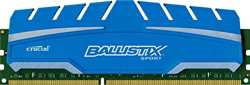 (Ballistix Sport XT 4GB Single DDR3 1600 MT/s (PC3-12800) CL9 at 1.5V UDIMM 240-Pin Memory Module BLS4G3D169DS3)
