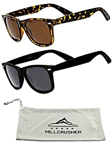 Classic Adult Eyewear 53mm POLARIZED Caminantes Wayfarers Sunglasses