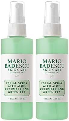 Mario Badescu Facial Spray with Aloe, Cucumber & Green Tea Duo, 4 Oz.