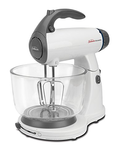 Sunbeam 2371 MixMaster Stand Mixer, White (Beaters Sunbeam Mixmaster)
